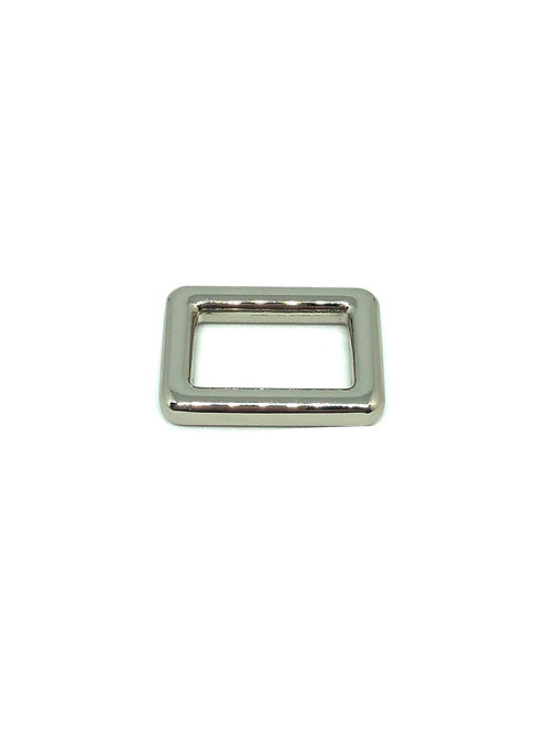 """Silver Rectangle Ring 20mm (3/4"""") x 12mm (1/2"""")"""