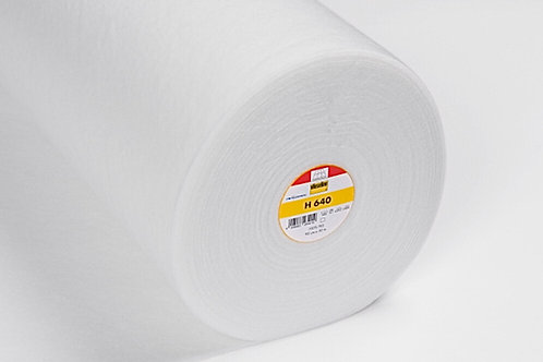 Vlieseline H640 Fleece Batting - Fusible Medium Loft