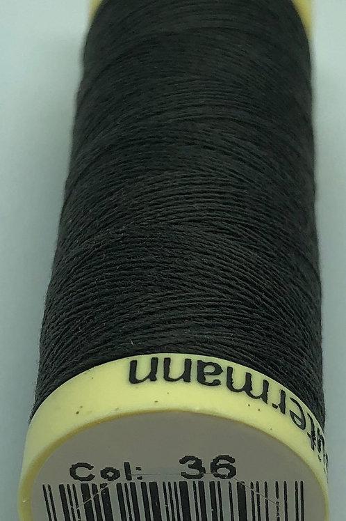 Gutermann Sew-all Thread #36 Dark Warm Grey