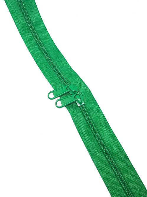 YKK Zipper Tape - Emerald Green 876