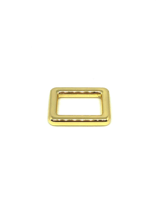 "Gold Rectangle Ring 20mm (3/4"") x 12mm (1/2"")"