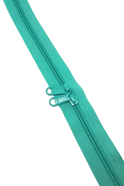 YKK Zipper Tape - Aquamarine 825