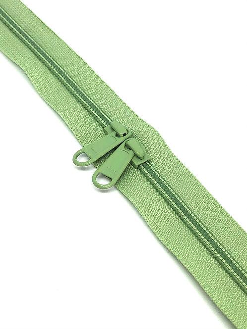 YKK Zipper Tape - Pistachio 063