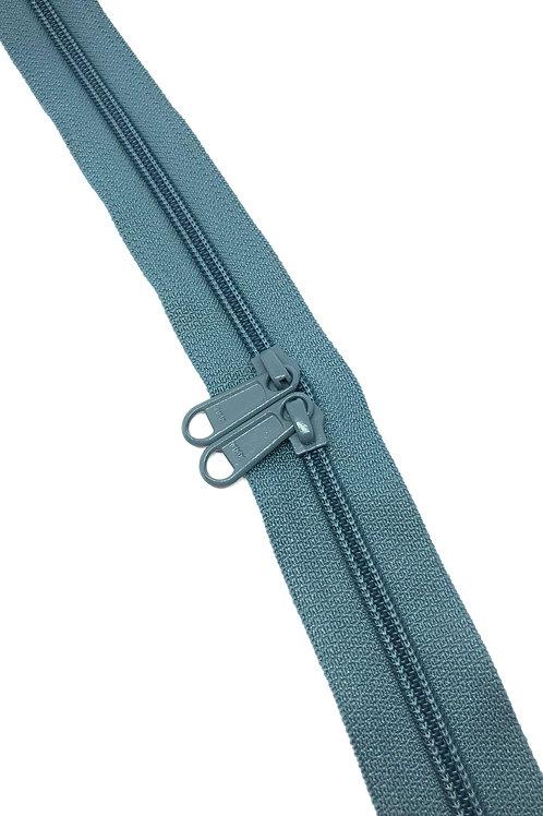 YKK Zipper Tape - Air Force Blue 104