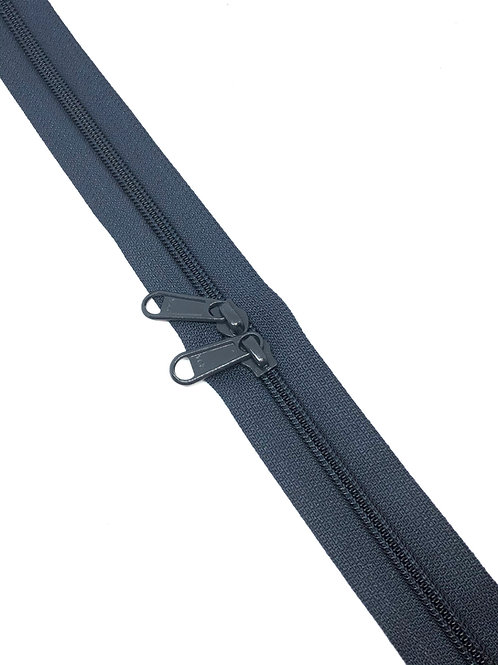 YKK Zipper Tape - Navy 196