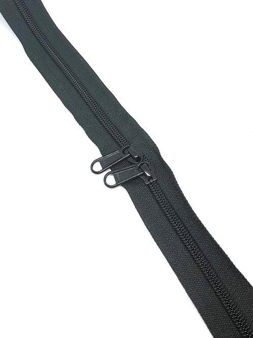 YKK Zipper Tape - Black