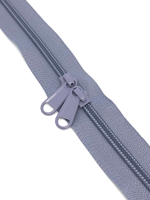 YKK Zipper Tape - Heather 379