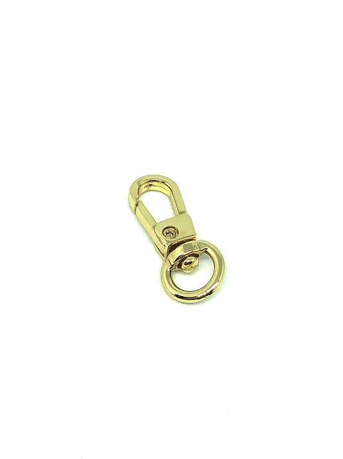 Gold Mini Swivel Hook