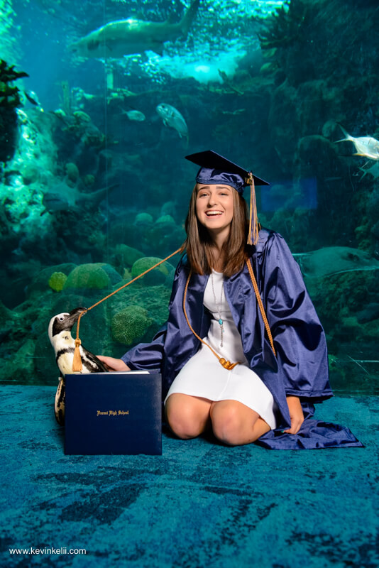 Graduation Photos at the Florida Aquarium Image 2