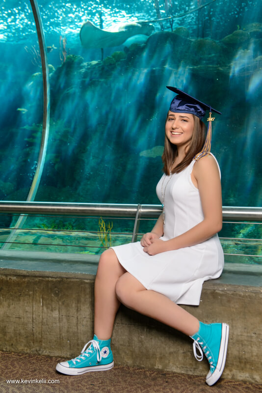 Graduation Photos at the Florida Aquarium Image1