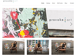 Provok Art's Website