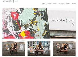 Provok Art's Website