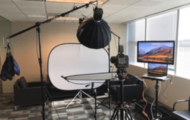 Our Mobile Headshot Studio