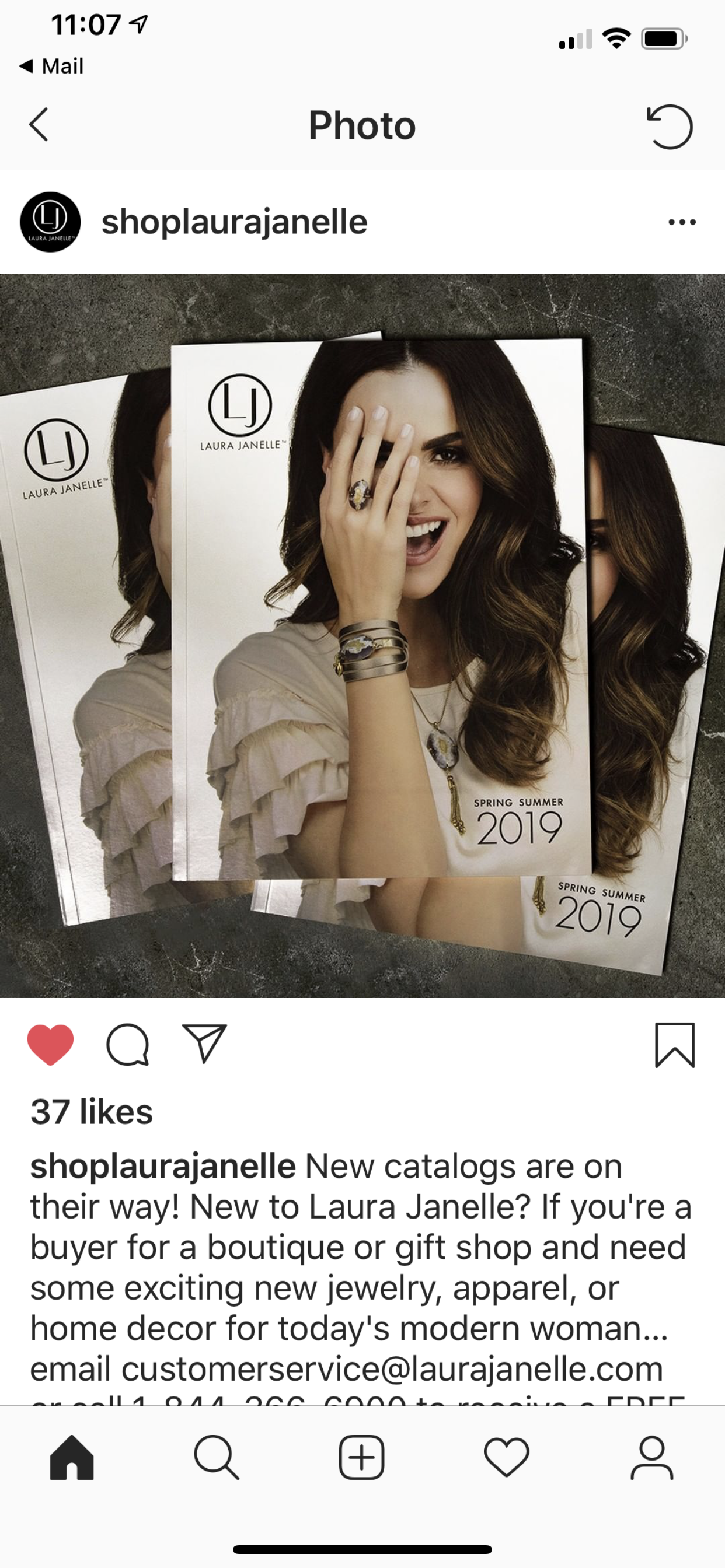 Laura Janelle Catalog Cover