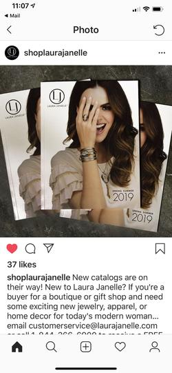 Laura Janelle Catalog Cover