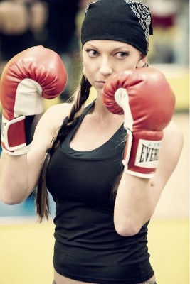 Boxing Fitness Photography