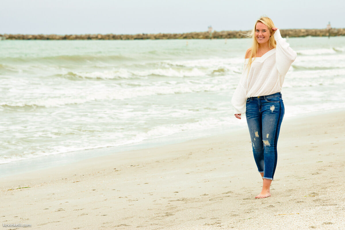 Senior Portraits On Clearwater Beach
