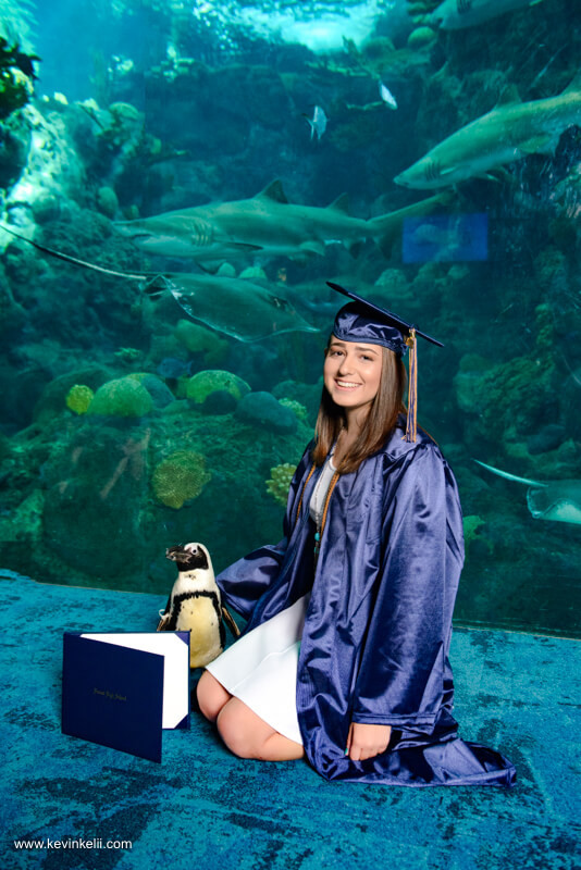 Graduation Photos at the Florida Aquarium Image 4