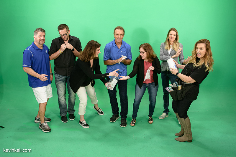 Group shot with Doug Flutie.