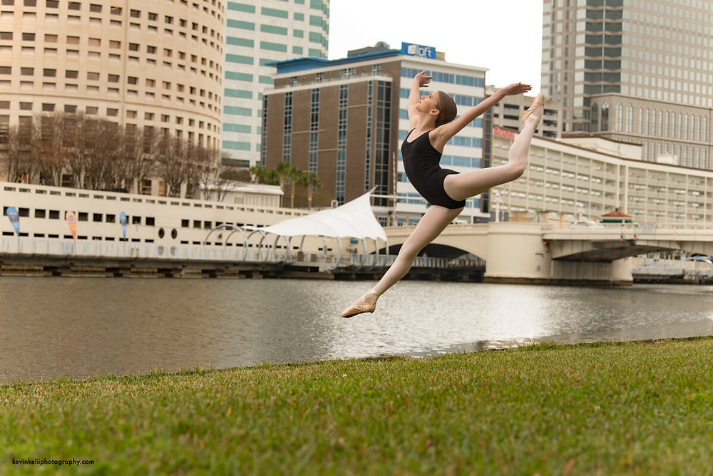 Dance Jumping Downtown Tampa 1