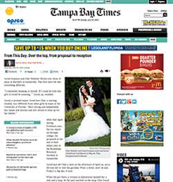 Tampa Bay Times Weddings