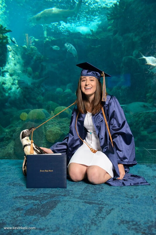 Senior Portraits At The Aquarium