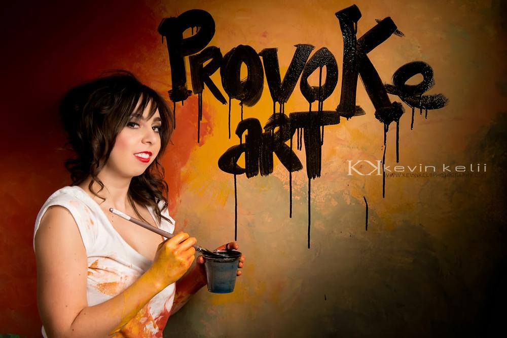 Provoke Art Photoshoot