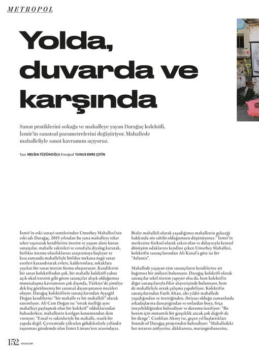 Vogue Turkey - June/July 2021