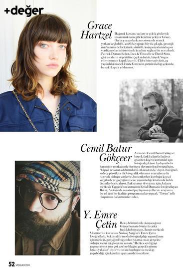 Vogue Turkey / +değer