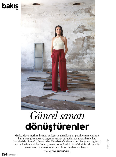 Vogue Turkey / Bakış