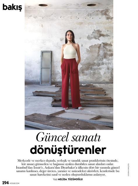 Vogue Turkey / Bakış