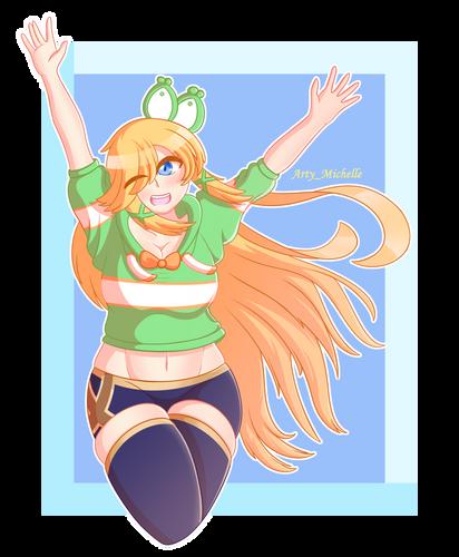 Ayana, pose practice