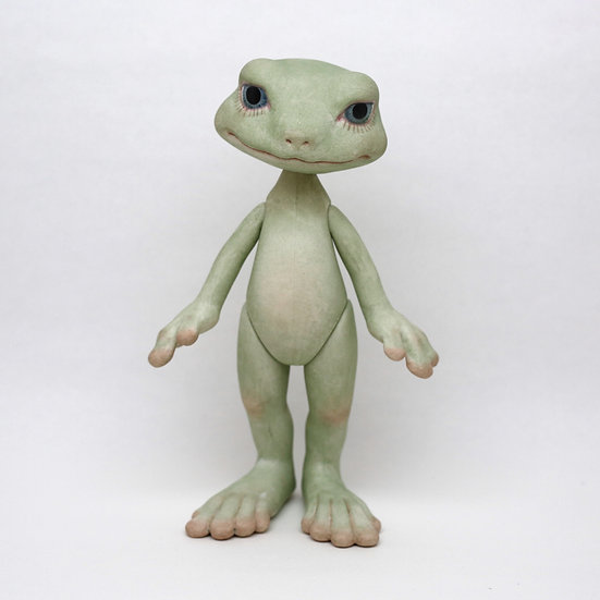 frog Bisque doll