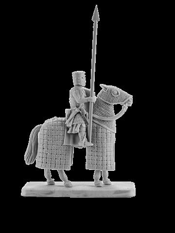 Mounted Crusader Knight #5