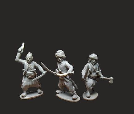 OTT005 Ottoman Irregulars with Swords & Yatagans