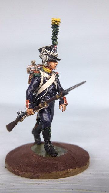 11.061-M Light Infantry Voltigeur Skirmishing