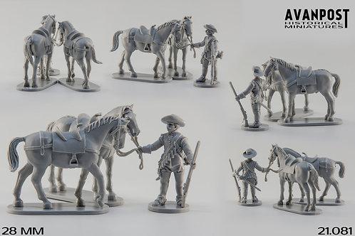21.081 Dismounted Dragoon, Horse Holder