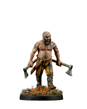 Viking with Axes