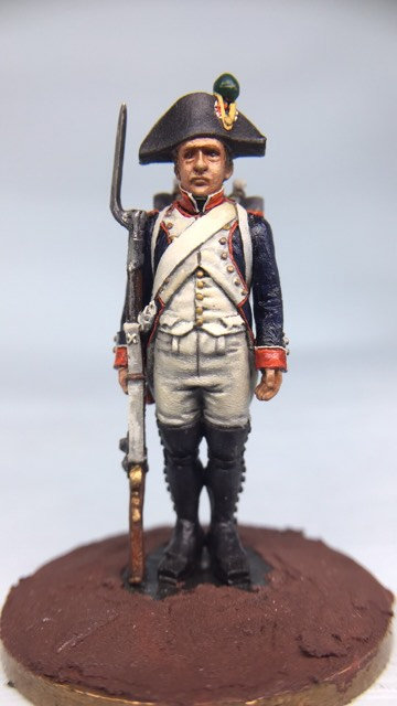 11.005-M Line Infantry Fusilier Standing in Bicorn