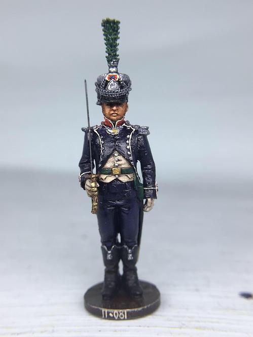 11.081-M Light Infantry Officer Standing