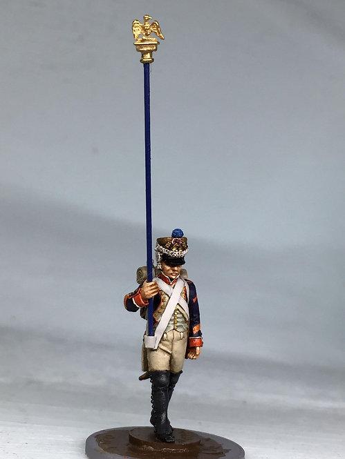 11.094-M Eagle Bearer Sergeant in Shako Marching