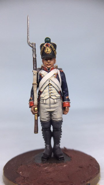 11.001-M Line Infantry Sergeant Standing in Shako