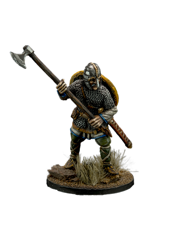 Anglo-Saxon with Axe