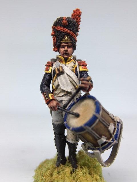 11.022-M Grenadier Company Drummer Standing in Bearskin