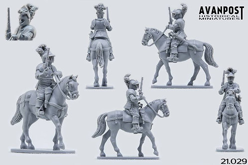 21.029 Cuirassier with Pistol