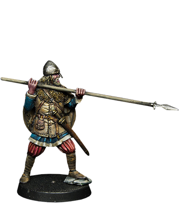 Viking with Spear