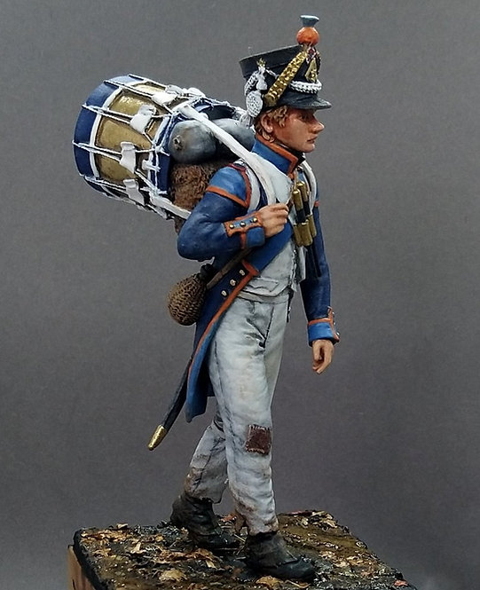 75.104 Drummer French 57th Line Infantry 1812