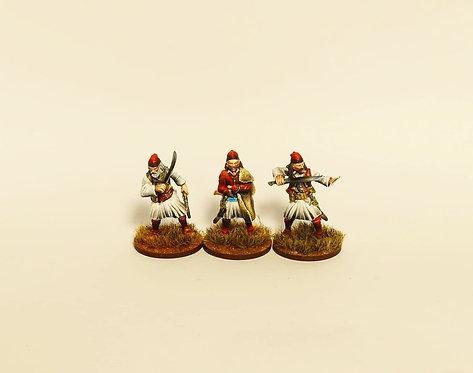 GWI004 Greek Rebels with Swords & Yatagans