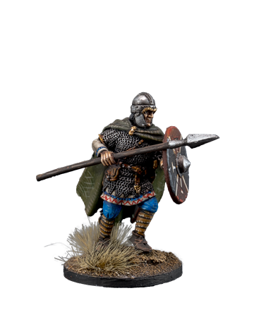 Anglo-Saxon with Spear