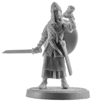 Viking Warrior Woman #5